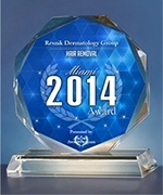 Resnik Dermatology Group has been selected for the 2014 Miami Awards for Hair Removal.